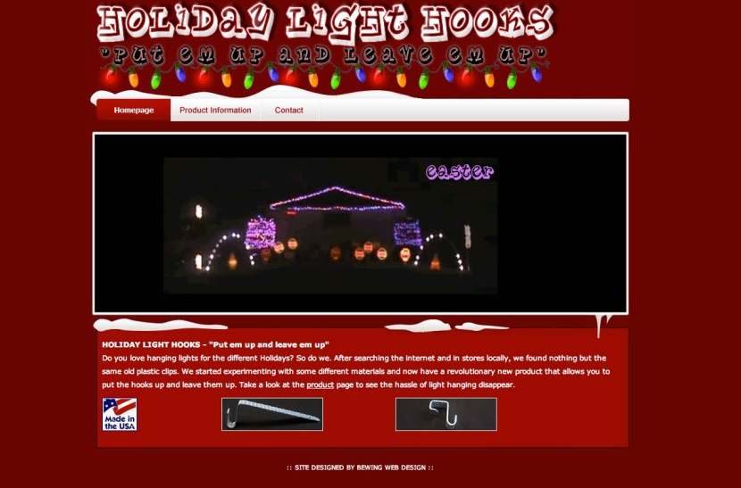 Holiday Light Hooks