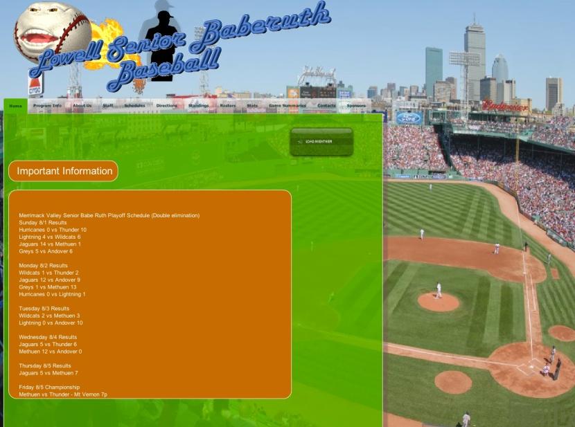 Lowell Baseball