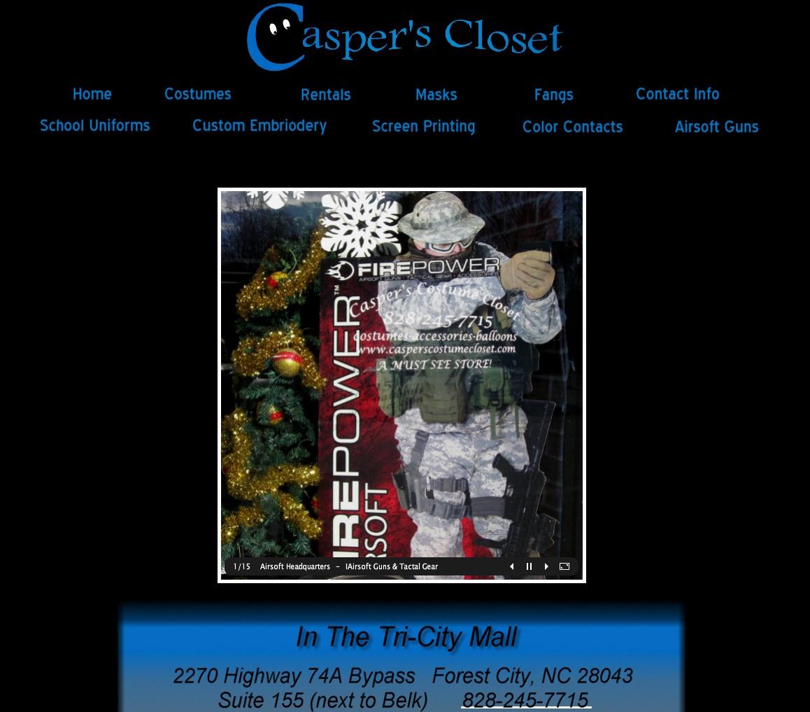 Caspers Closet