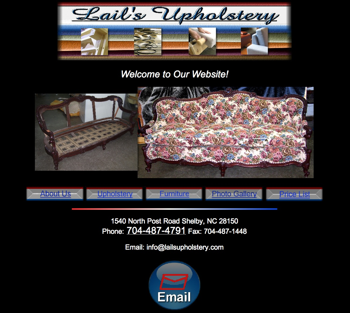 Lail's Upholstry